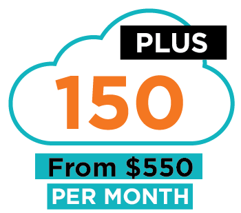 new 150 plus package